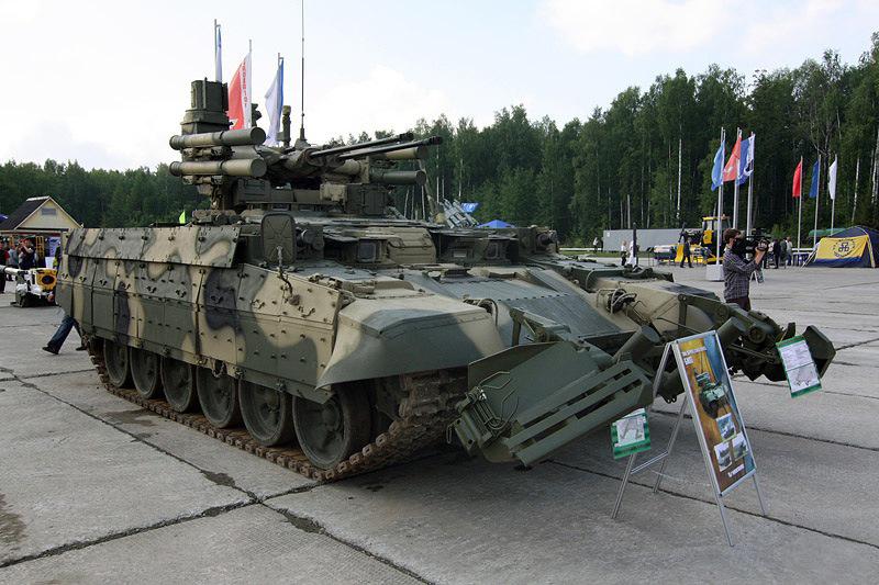 BMPT-72 جدید ترین تانک روسیه ملقب به نابودگر