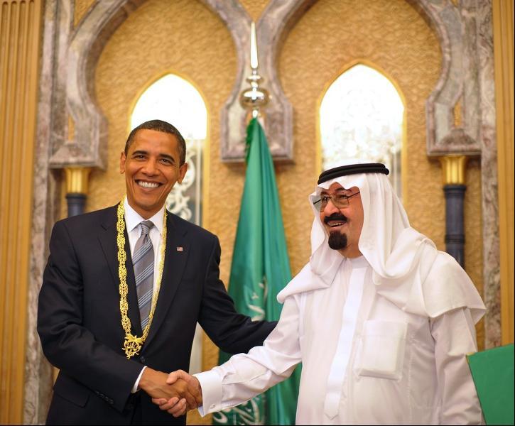 آل سعود و اوباما