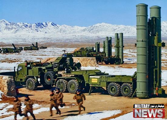 نخستین محموله ی موشک های اس ۳۰۰ وارد ایران شد