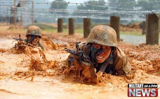 تصاویری از طاقت فرسا ترین تمرینات نظامی سربازان در کشورهای مختلف