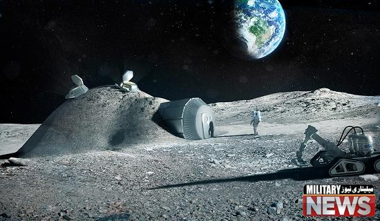 روسیه در حال برنامه ریزی برای احداث یک پایگاه کامل فضایی در کره  ی ماه !