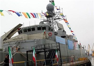 الحاق ناو شکن پیشرفته ی (دماوند) به نیروی دریایی ارتش