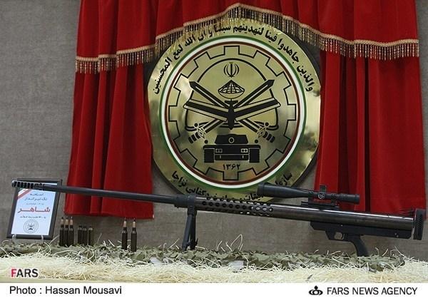 رونمایی از تکتیرانداز سپاه +تصاویر