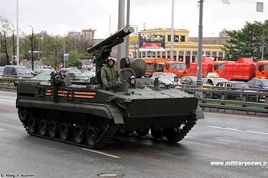 موشک ضد تانک روسیه