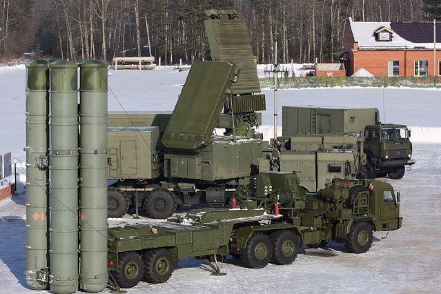 سامانه دفاع موشکی s400