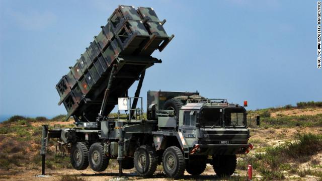 سامانه دفاع موشکی پاتریوت