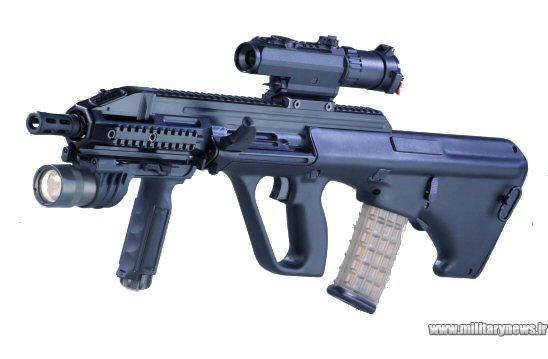 معرفی تفنگ تهاجمی AUG ساخت اتریش