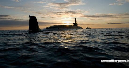 زیردریایی اتمی روسیه