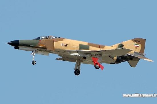 چف فلر روی جنگنده ایرانی