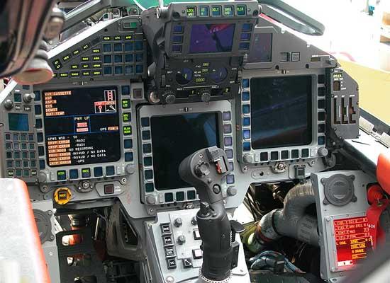 کاکپیت کابین خلبان جنگنده