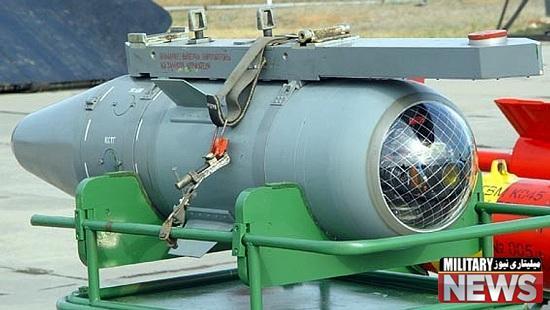 استفاده روسیه از موشک های بتن شکن در حمله به تروریست های سوریه