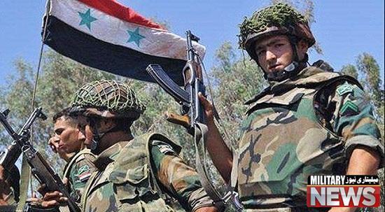 حمله ارتش سوریه و نیروهای مقاومت به سوی خان طومان