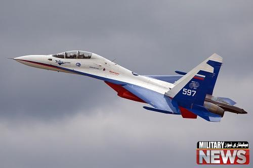 ایران در حال خرید تعداد قابل توجهی جنگنده سوخو 30 از روسیه
