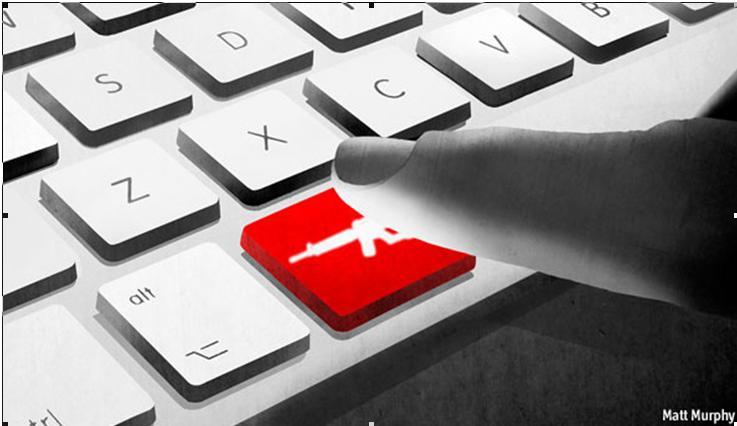 جنگ سایبری همزمان با تجاوز عربستان به یمن