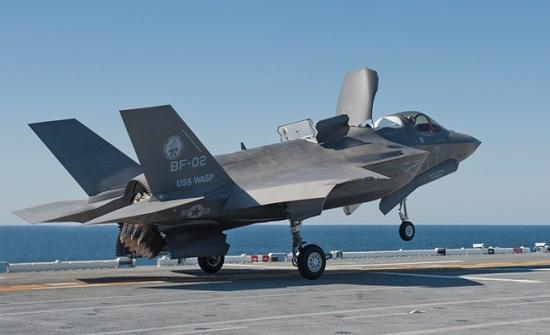 رژِیم صهیونیستی اولین فروند جنگنده اف ۳۵ را دریافت می کند