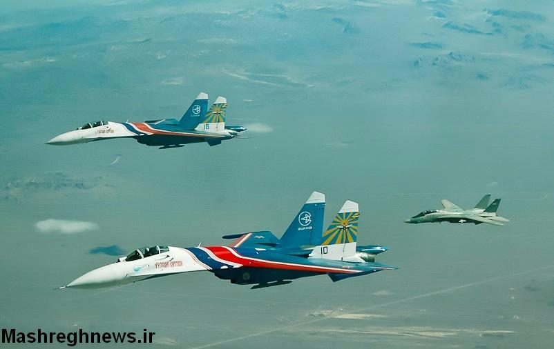 اف 14 ایران در سوریه