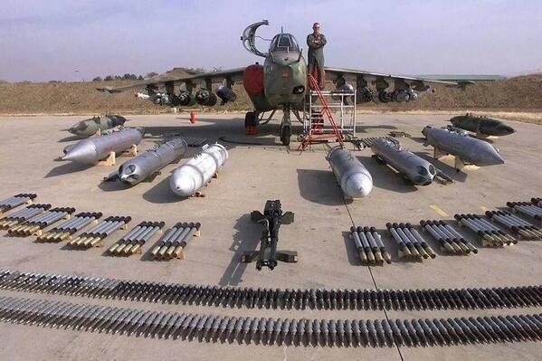 سلاح ها و ادوات نظامی مورد استفاده در ارتش ایران