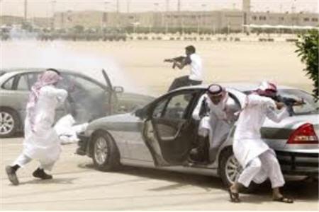 تمرینات نظامی ضد تروریستی عربستان در مرز با عراق