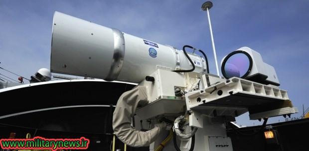سامانه پدافندی لیزری ضد موشک ساخت شرکت لاکهید مارتین+فیلم