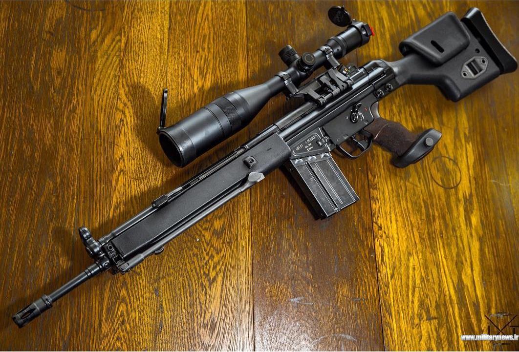 تفنگ تکتیرانداز هکلرکوخ PSG۱ ساخت آلمان