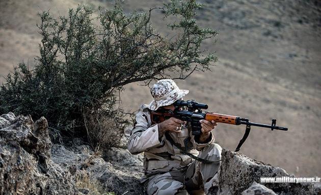 گروه تک تیراندازان یگان ویژه فاتحین بسیج ایران