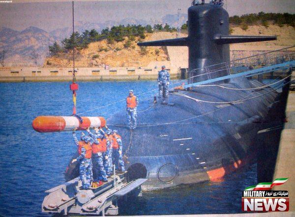 زیر دریایی اتمی چین