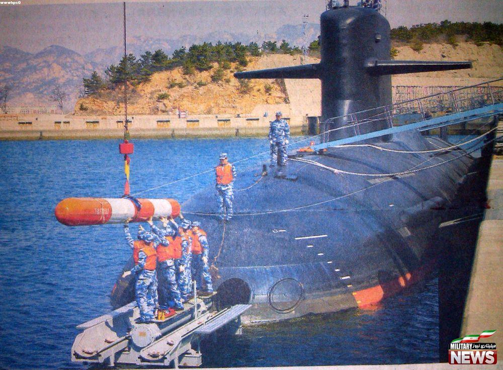 انتشار اولین تصاویر از زیر دریایی اتمی چینی ۰۹۳B SNN