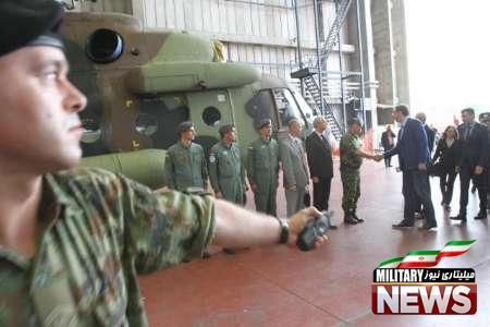 ارتش صربستان پس از ۲۹ سال بالگرد خرید +عکس