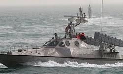 حضور همیشگی قایقهای هجومی «هودانگ» سپاه در ۳۰۰ یاردی کشتیهای جنگی آمریکا