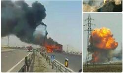 سانحه مربوط به انفجار تریلی حامل مهمات سپاه بوده است