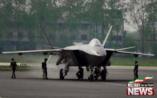 نیروی هوایی چین اخبار ورود به خدمت جنگنده نسل پنجم خود را تکذیب کرد