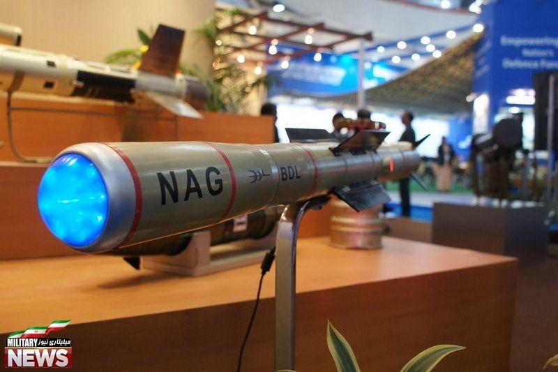 معرفی موشک ضد زره Nag ساخت کشور هند