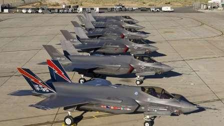 آمریکا جنگنده های اف-۳۵ را زمین گیر کرد
