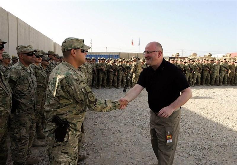 سفر وزیر دفاع گرجستان به افغانستان