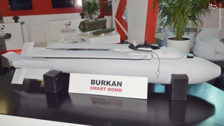 نمایش بمب هدایت شونده ساخت سودان+عکس