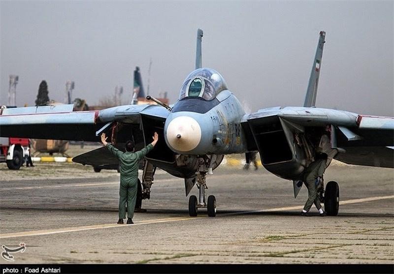 یک فروند جنگنده F۱۴ در اصفهان بازآماد شد
