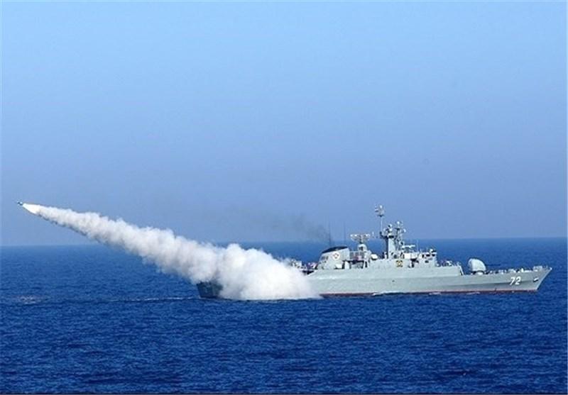 ناوهای ایران و ایتالیا در «تنگههرمز»رزمایش برگزارکردند