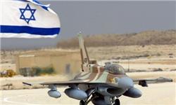 یک جنگنده اسرائیلی در آتش سوخت