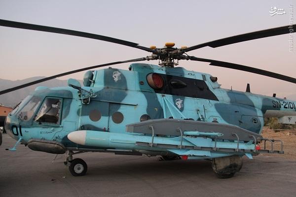 هوادریایی ندسا با پهپاد و بالگردها از حریم جزایر فارسی دفاع می کند (آماده نیست)