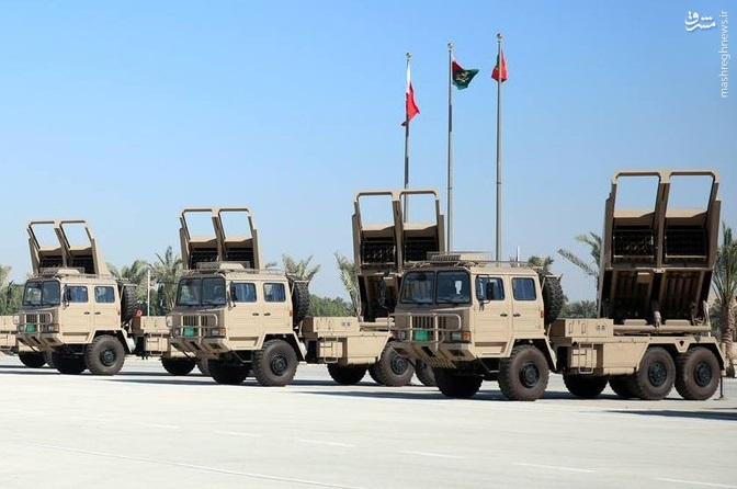 مسلح شدن بحرین به راکت انداز چینی+عکس