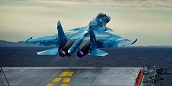 سقوط سوخو ۳۳ روسی در مدیترانه