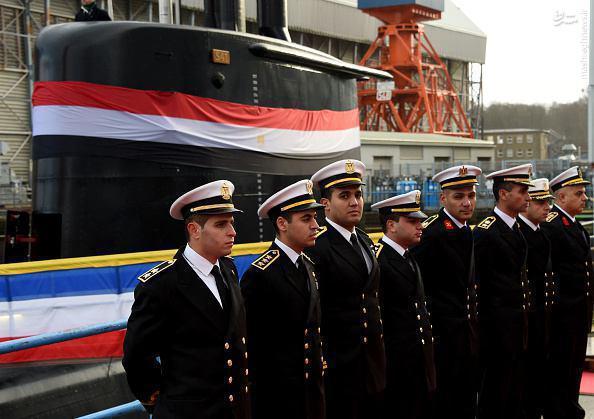 مصر زیردریایی آلمانی تحویل گرفت+عکس