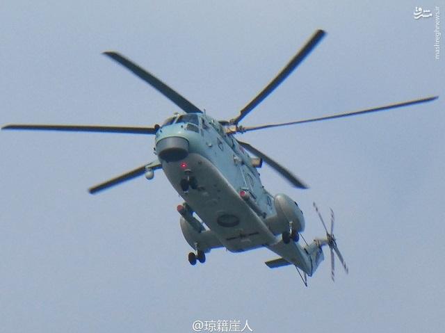 رویت بالگردهای جدید ضد زیر دریایی در چین و روسیه+عکس