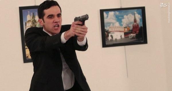 سفیر روسیه با کدام سلاح به قتل رسید+عکس