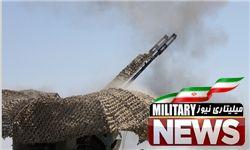انهدام پهپاد دشمن فرضی بر فراز نیروگاه اتمی بوشهر