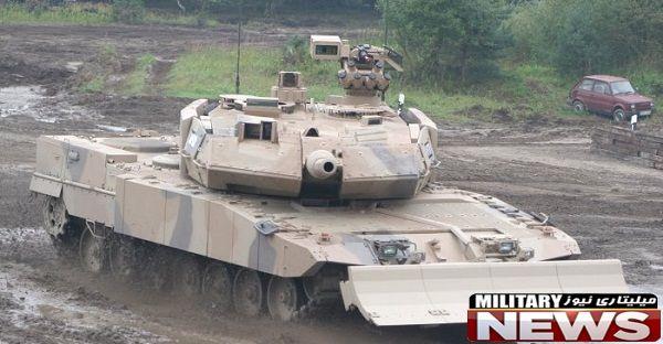 تانک قدرتمند لئوپارد ۲A7
