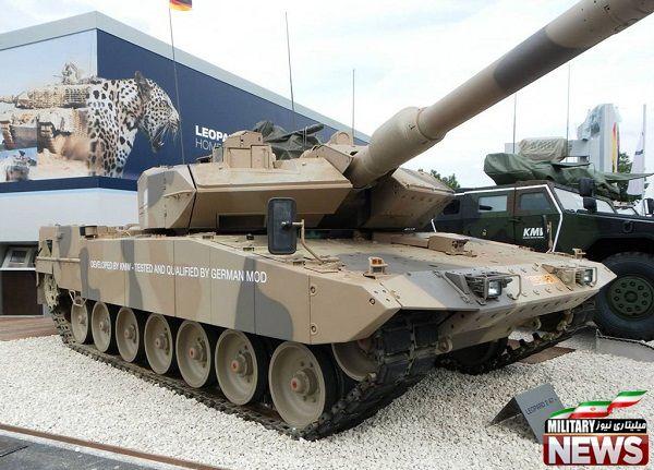 تانک قدرتمند لئوپارد