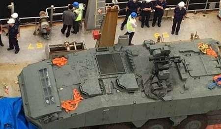 سنگاپور خواستار بازگرداندن فوری ادوات نظامی اش از هنگ کنگ شد