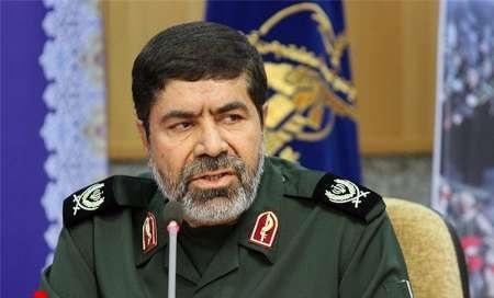 سردار شریف: داعش یک ترقه هم در ایران نمیتواند منفجر کند