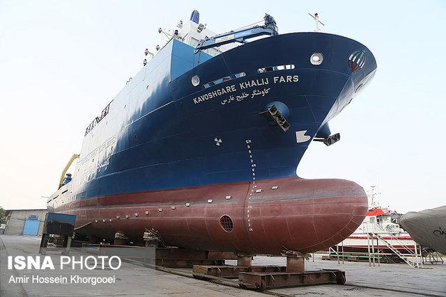 به آباندازی کشتی تحقیقاتی ایران در بهمن